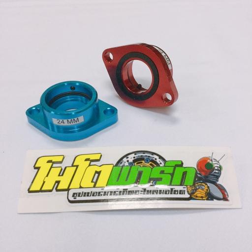 แป้นคาบูร์ (SKY Racing) 24 mm.(DASH) คละสี